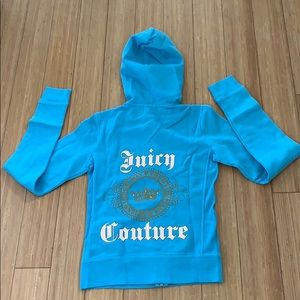 Brand new! Juicy Couture baby blue hoodies